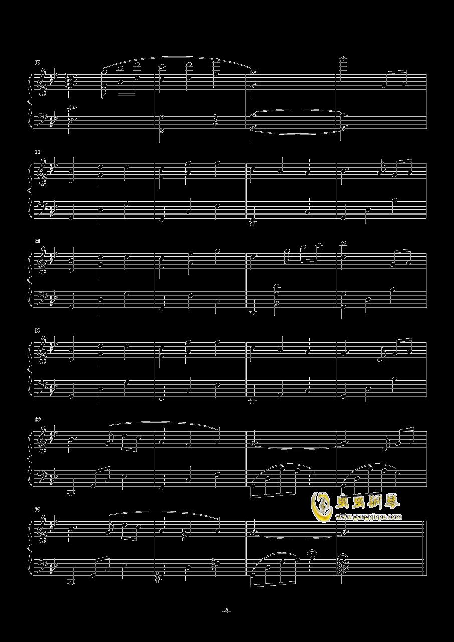 Since Summer钢琴谱 第4页