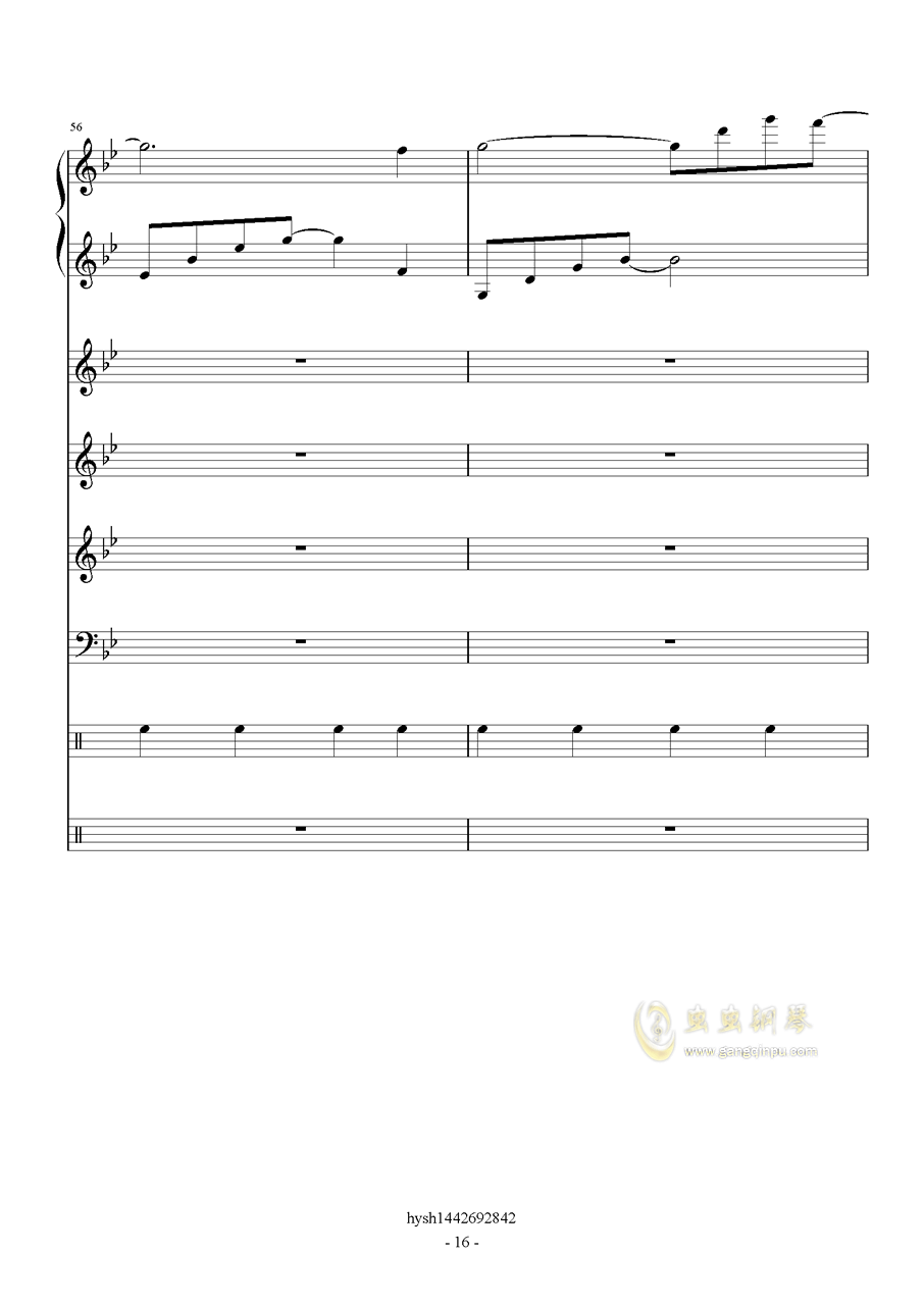 Uprising钢琴谱 第16页