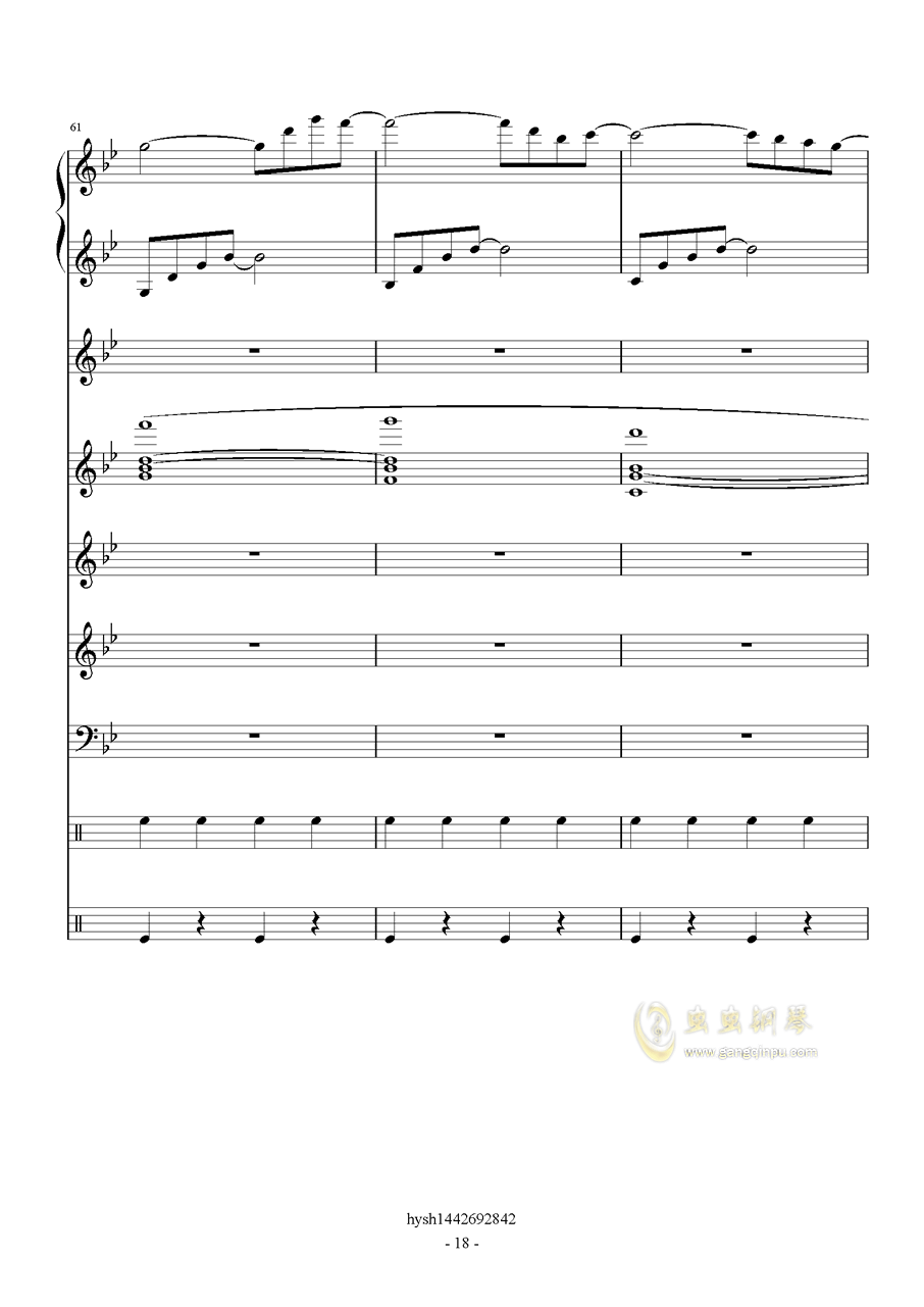 Uprising钢琴谱 第18页