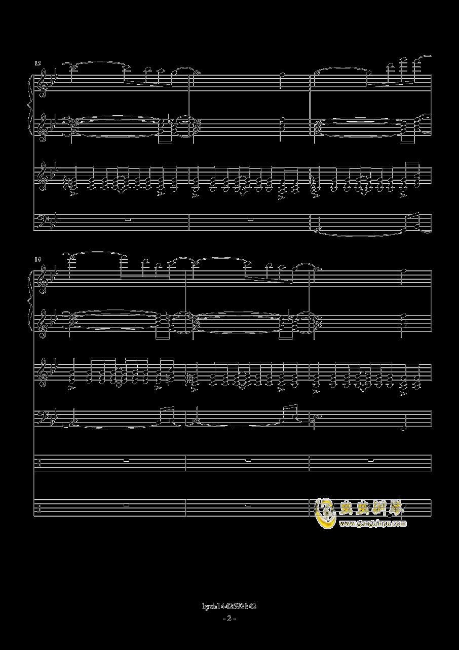 Uprising钢琴谱 第2页
