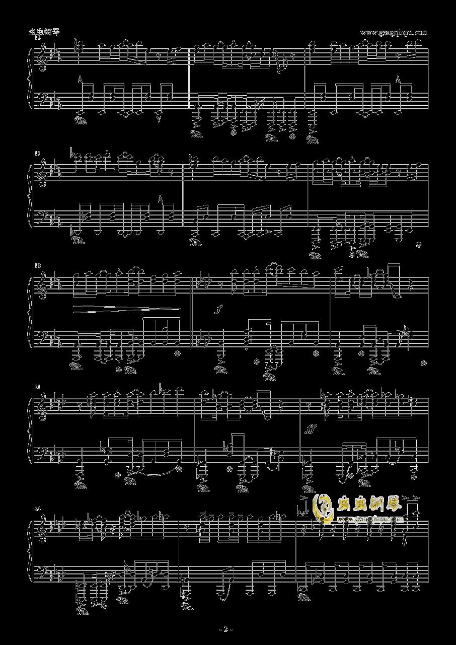 青空的狂想曲钢琴谱 第2页