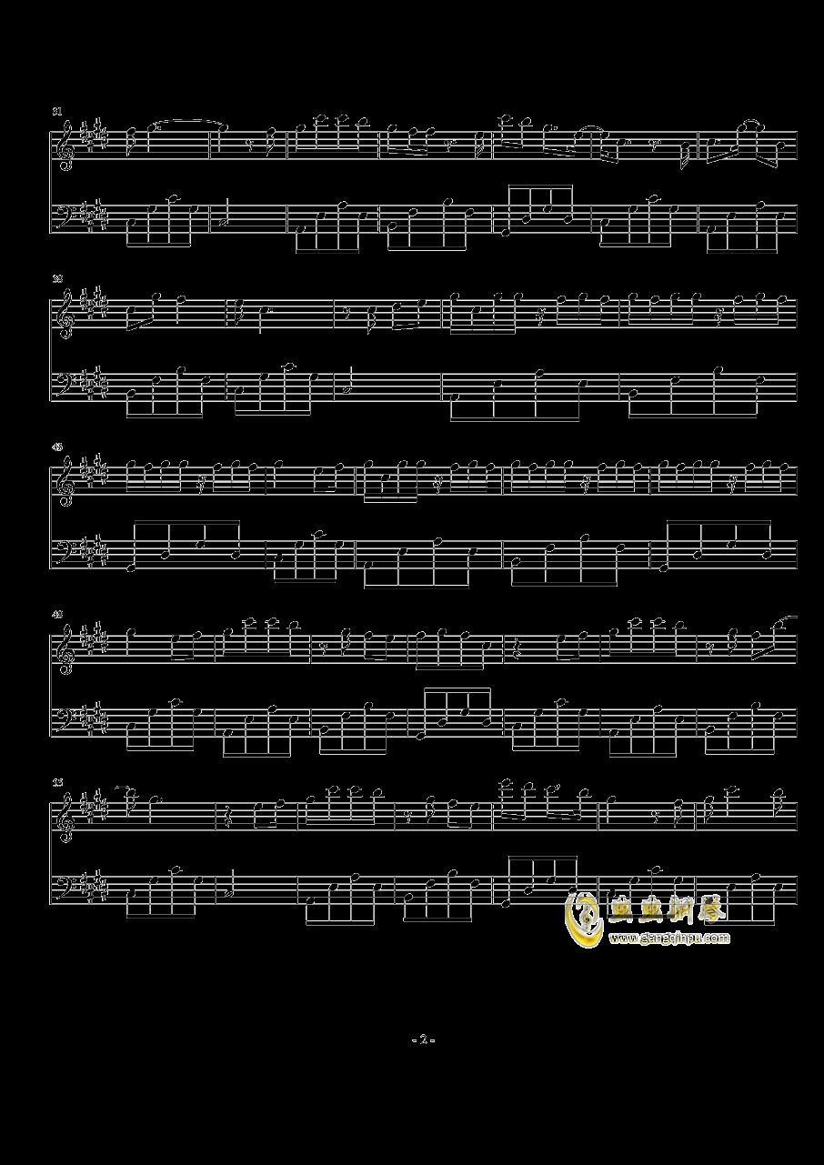 芊芊钢琴谱 第2页