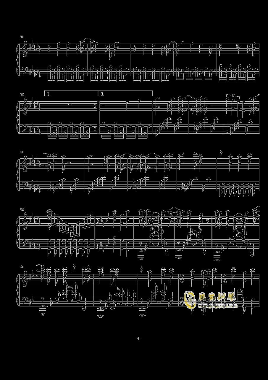 Rewrite op钢琴谱 第4页