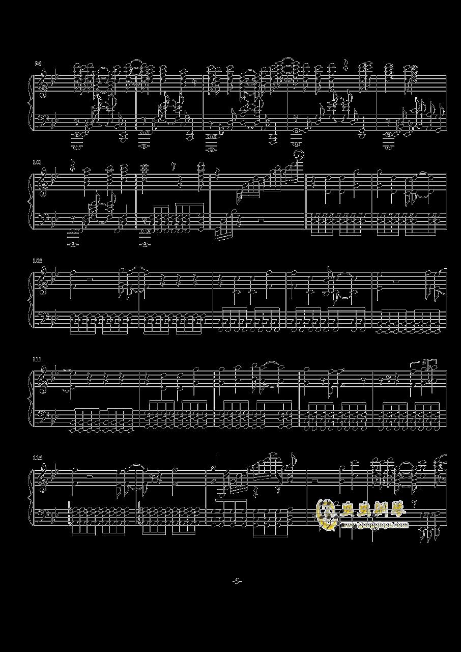 Rewrite op钢琴谱 第5页