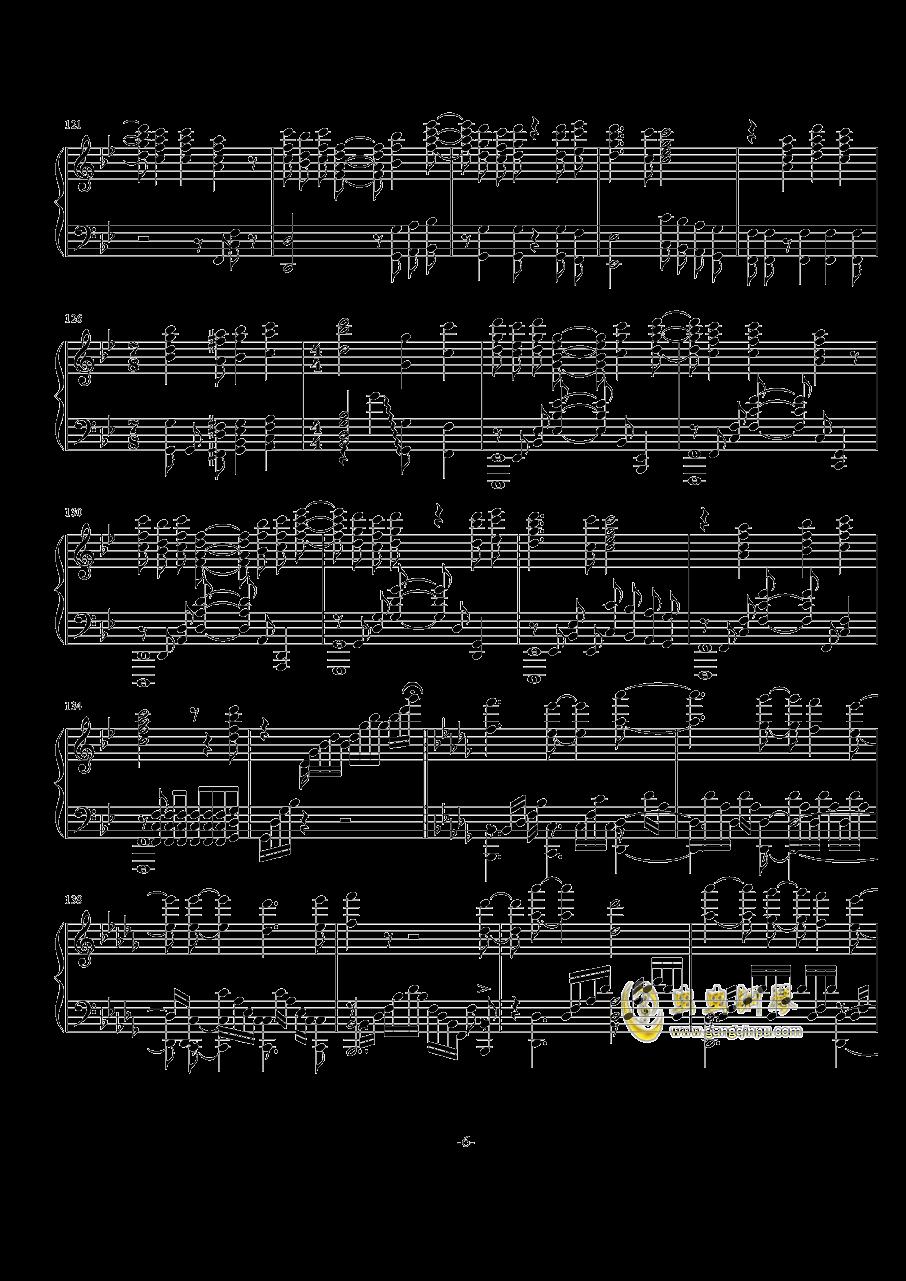 Rewrite op钢琴谱 第6页