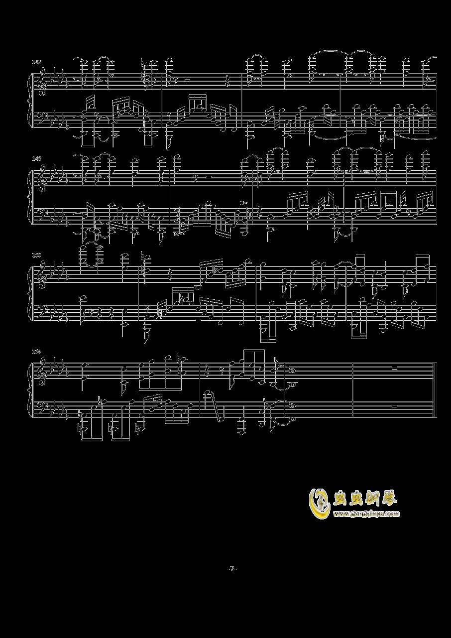 Rewrite op钢琴谱 第7页