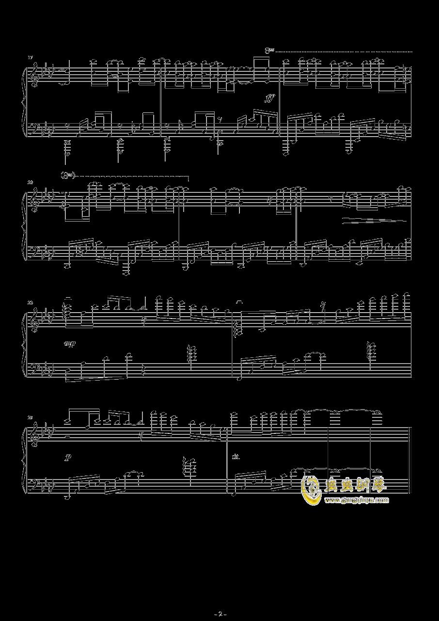 Stay Alive钢琴谱 第2页