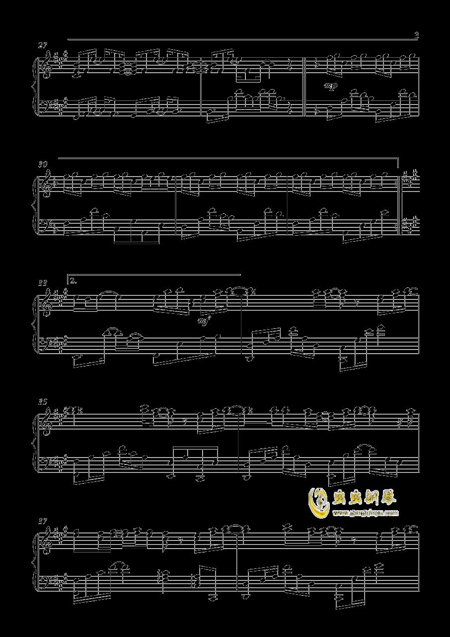 Release My Soul钢琴谱 第3页