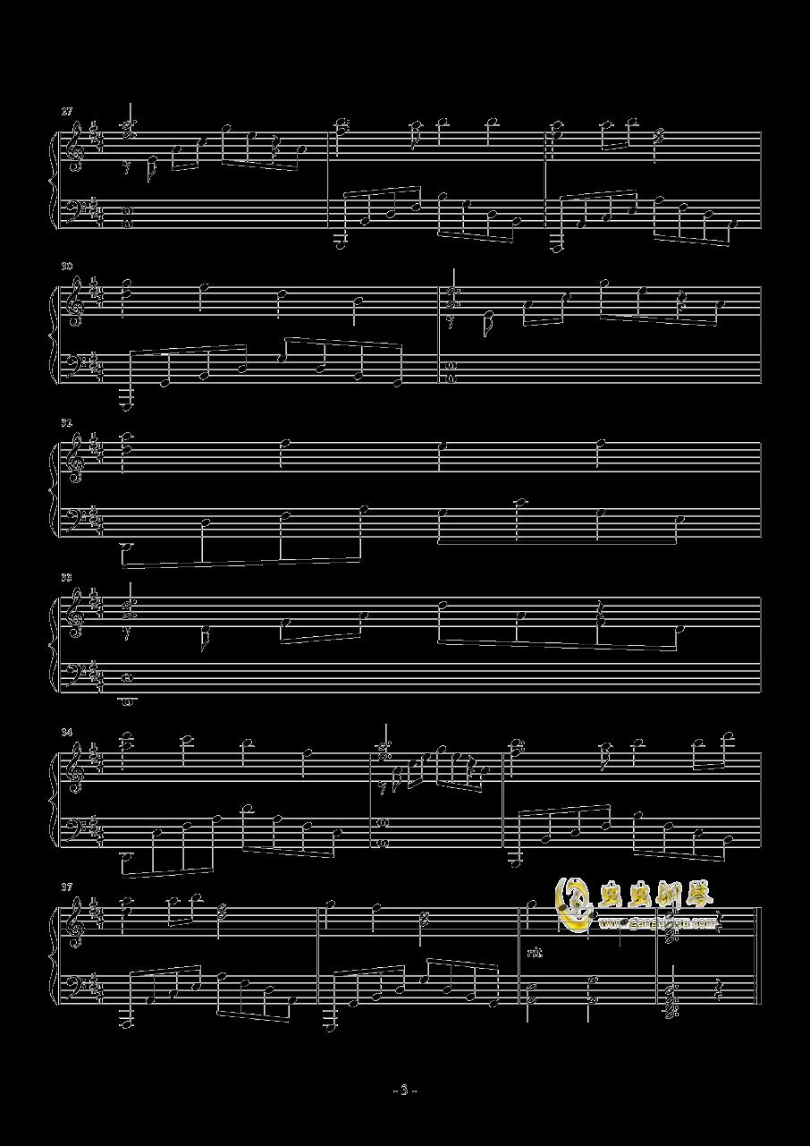 虫虫钢琴 钢琴谱 >> 名人名曲 >> 赞美之泉 >>爱我愿意