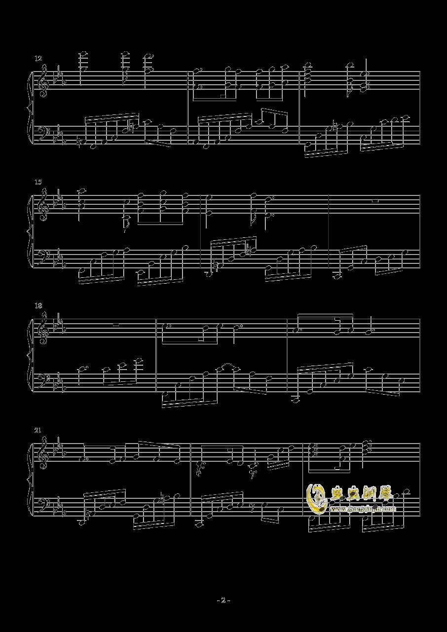 lacrimosa of dana钢琴谱 第2页