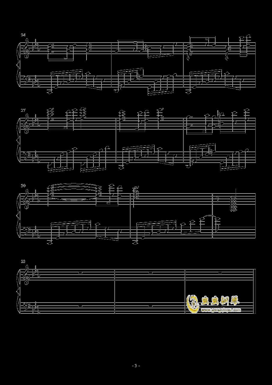 lacrimosa of dana钢琴谱 第3页