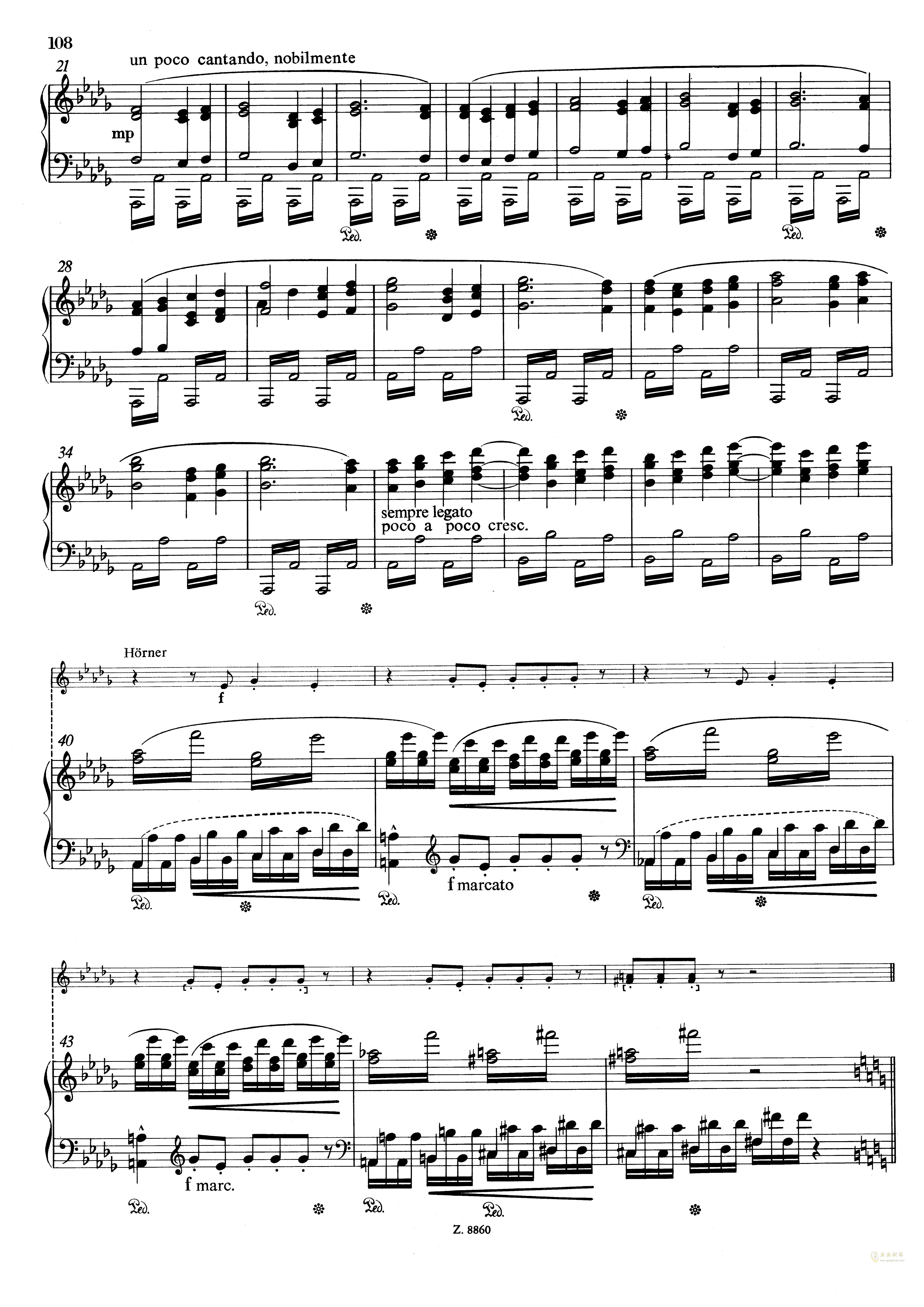 从摇篮到坟墓钢琴谱 第6页