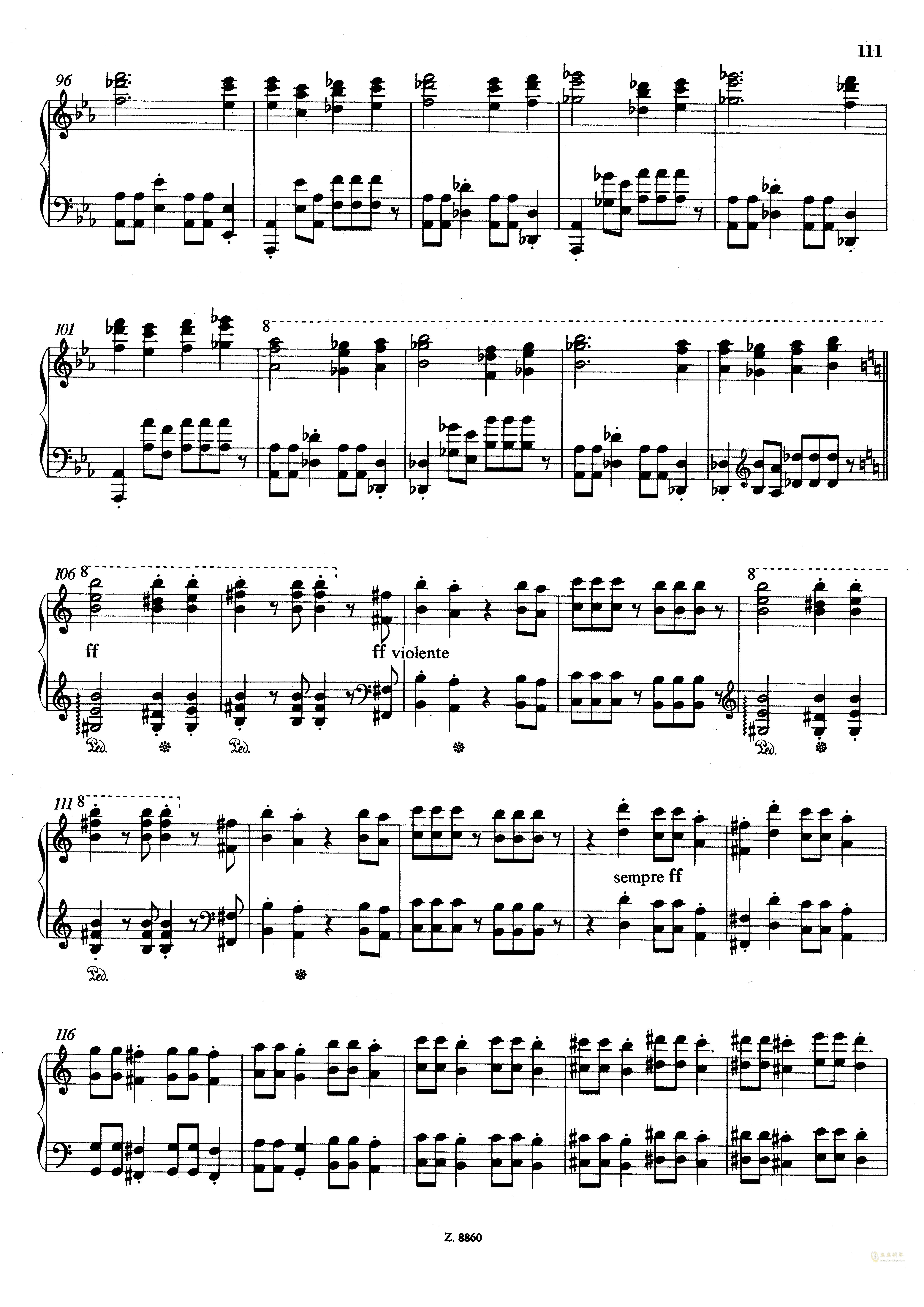 从摇篮到坟墓钢琴谱 第9页