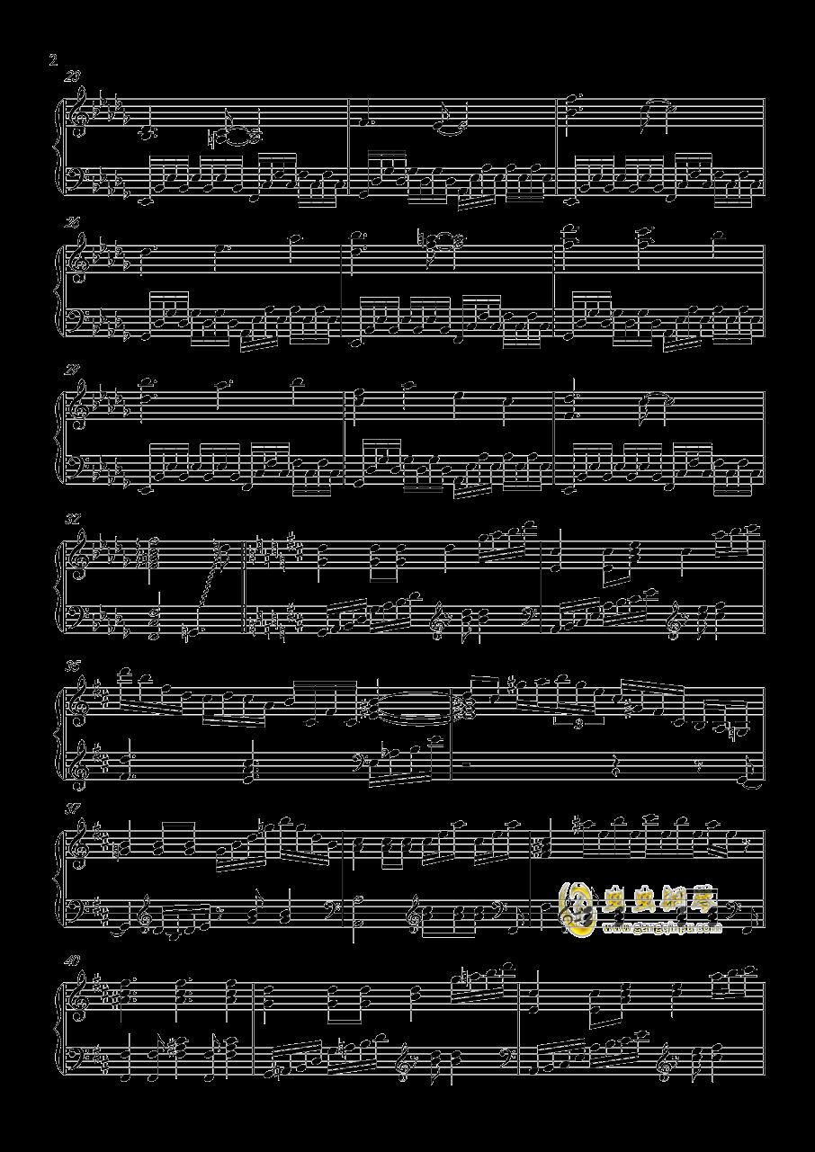 ネクロファンタジア钢琴谱 第2页