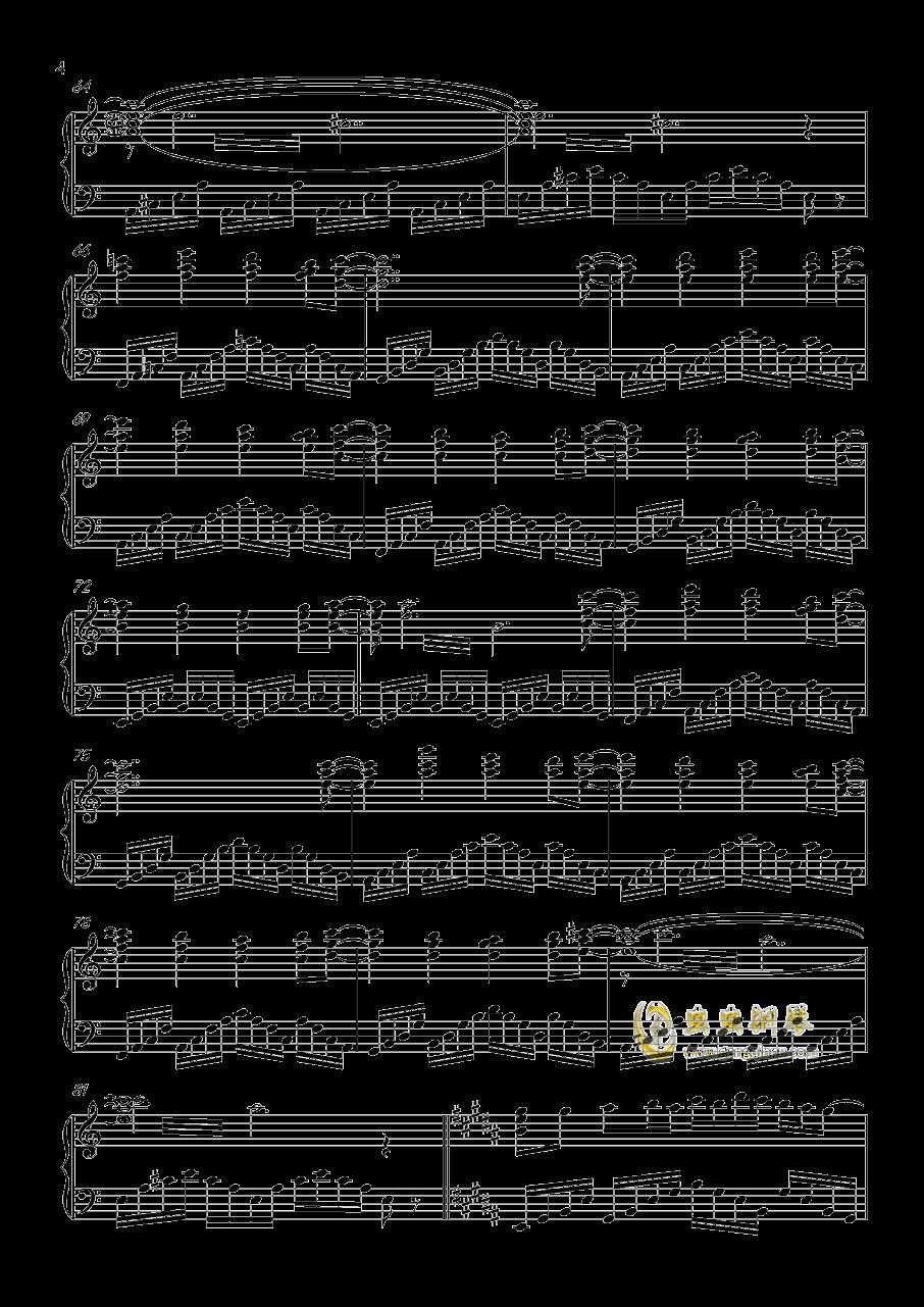 ネクロファンタジア钢琴谱 第4页