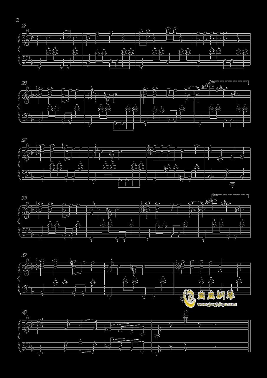 咖喱咖喱钢琴谱 第2页