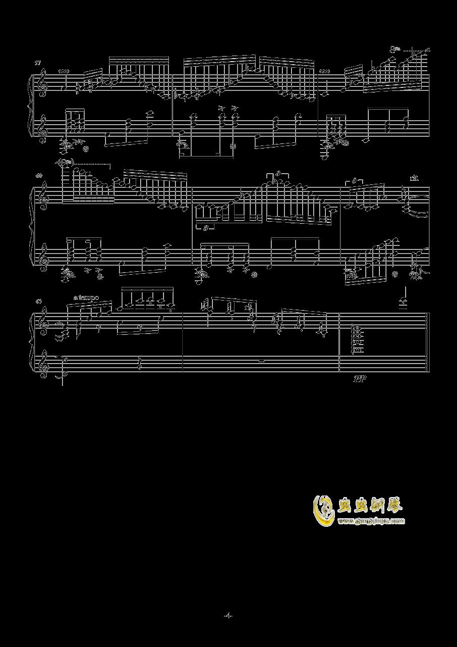 花丛舞者钢琴谱 第4页