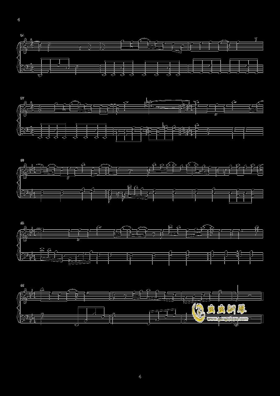 房间钢琴谱 第4页