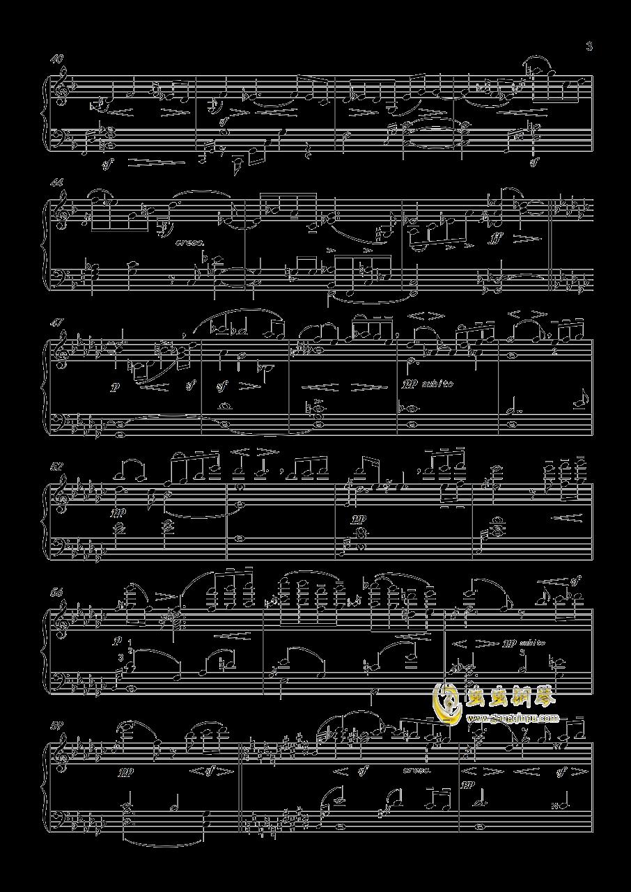 马勒第五交响曲钢琴谱 第3页