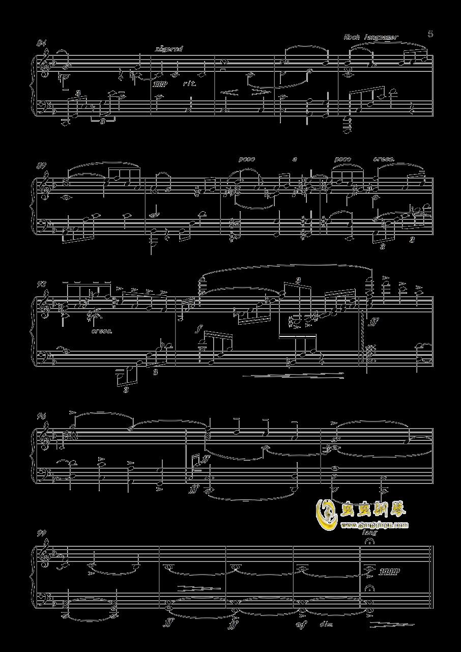 马勒第五交响曲钢琴谱 第5页