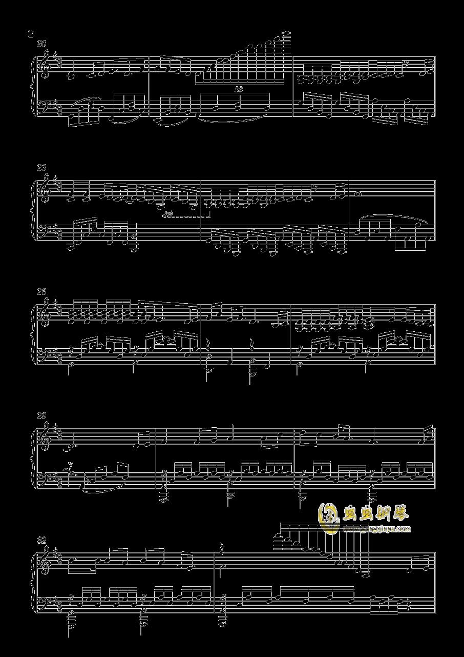 恋色旋律-有你的幸福钢琴谱 第2页