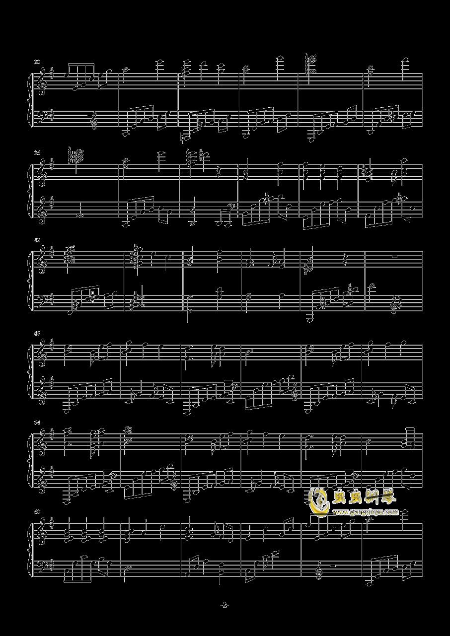 ザナルカンドにて钢琴谱 第2页
