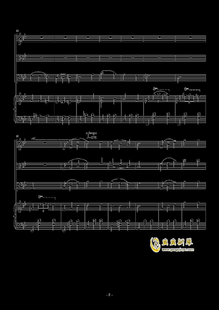 木琴的曲谱-钢琴谱 木马 人生 钢琴