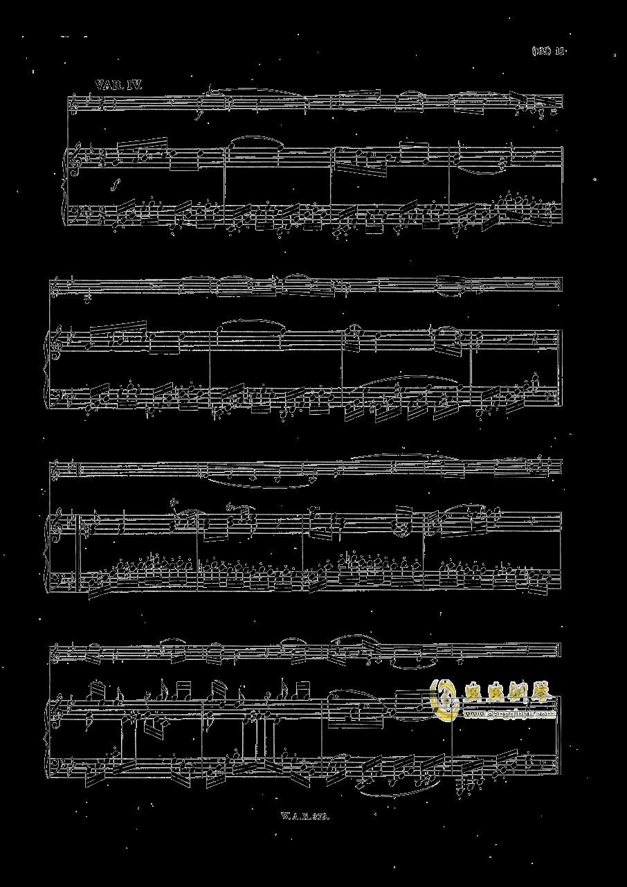 G大调小提琴奏鸣曲钢琴谱 第10页