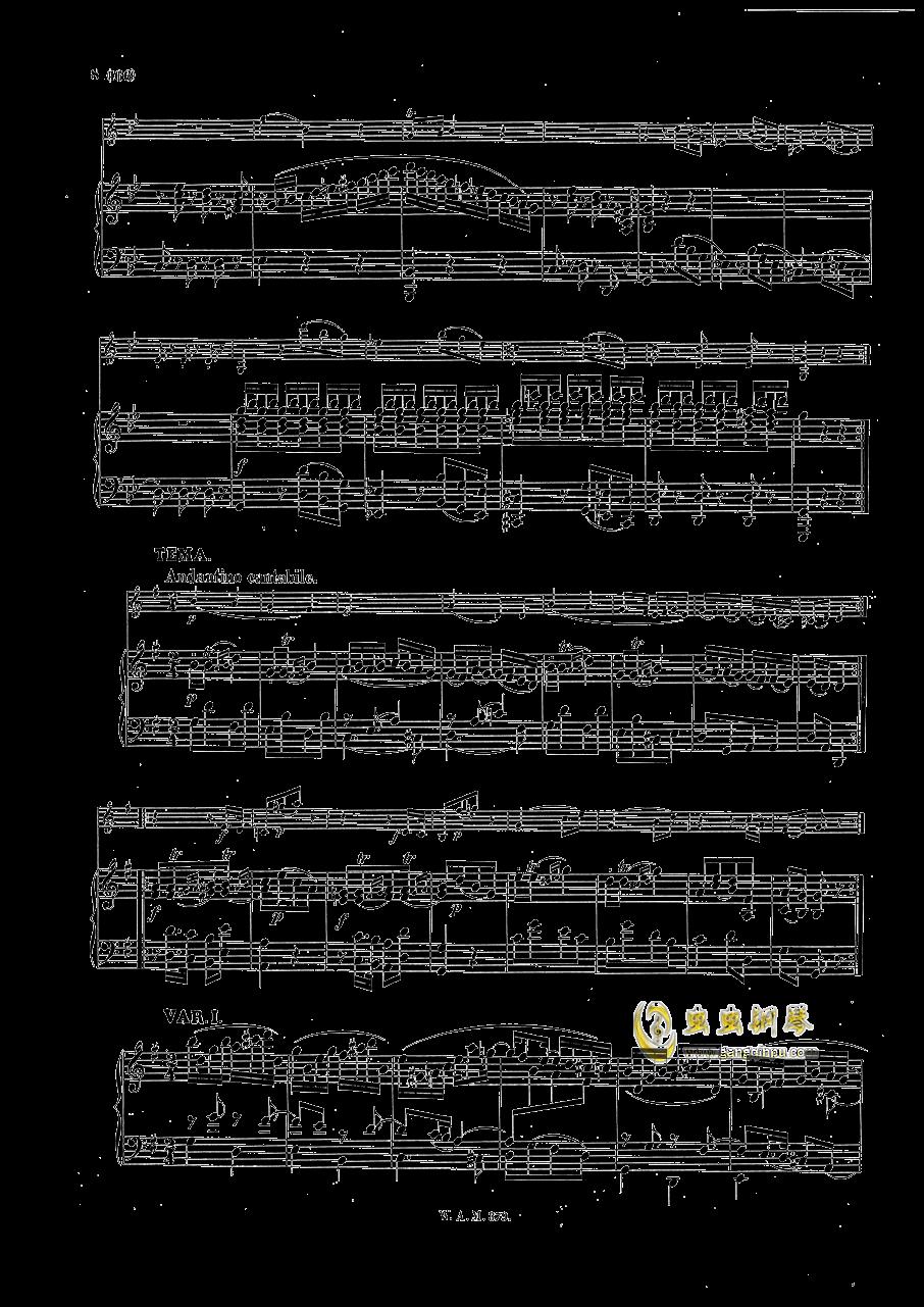 G大调小提琴奏鸣曲钢琴谱 第7页