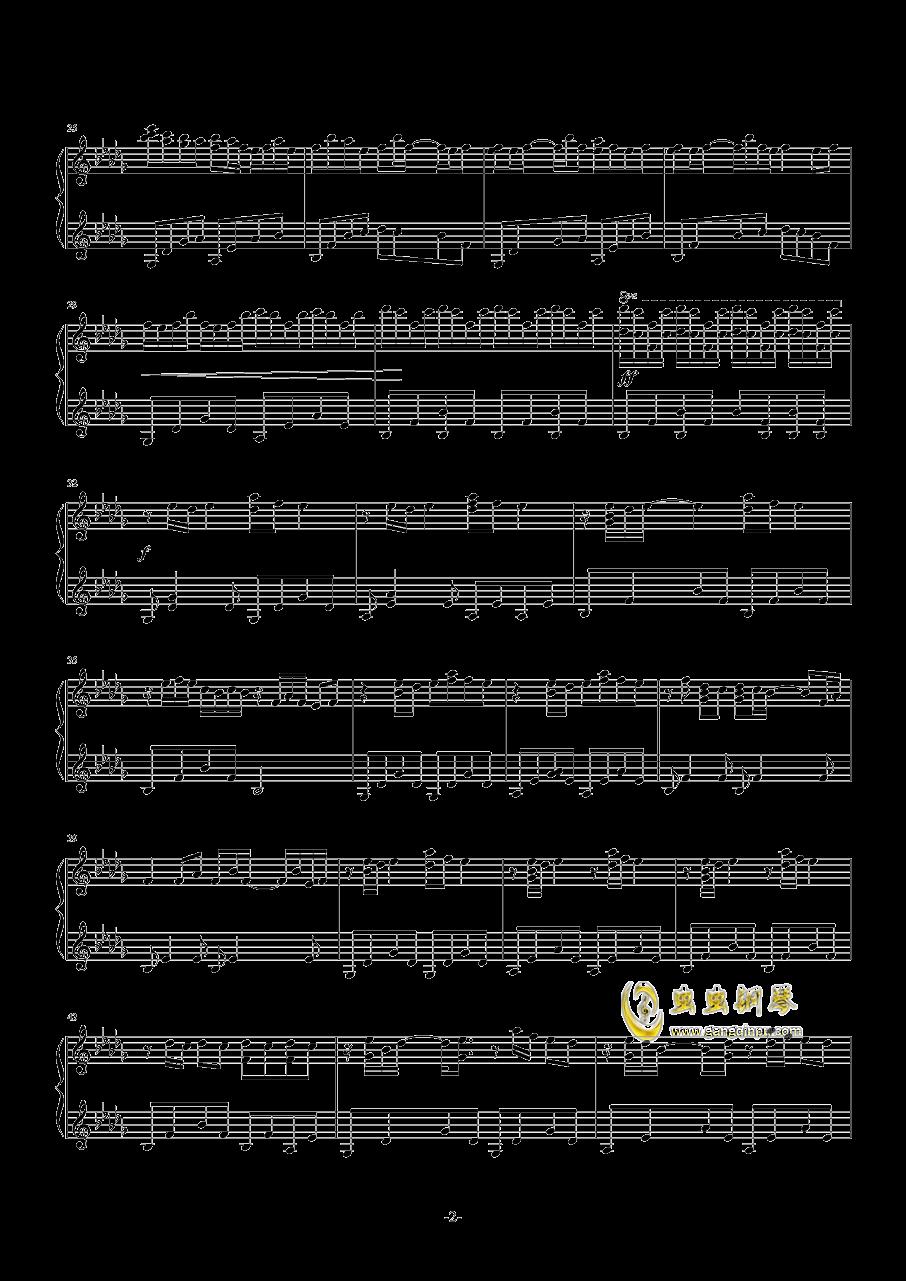 Luv Letter钢琴谱 第2页