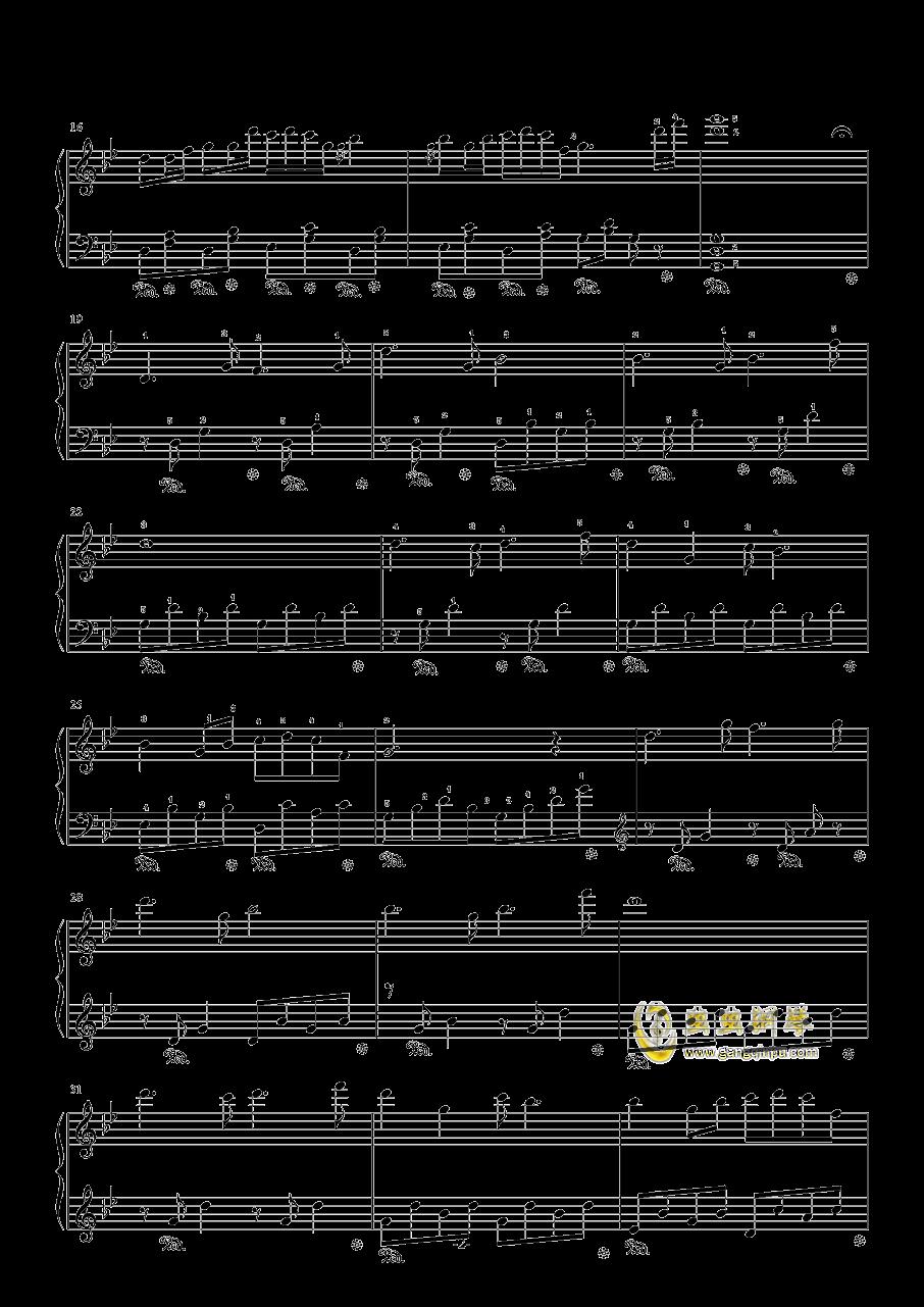 侗族多耶舞钢琴谱 第2页