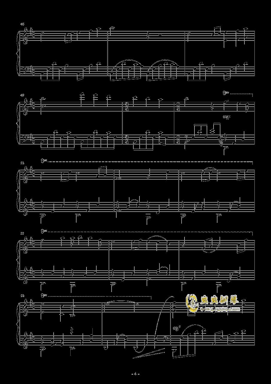 Paleoville's Higan钢琴谱 第4页