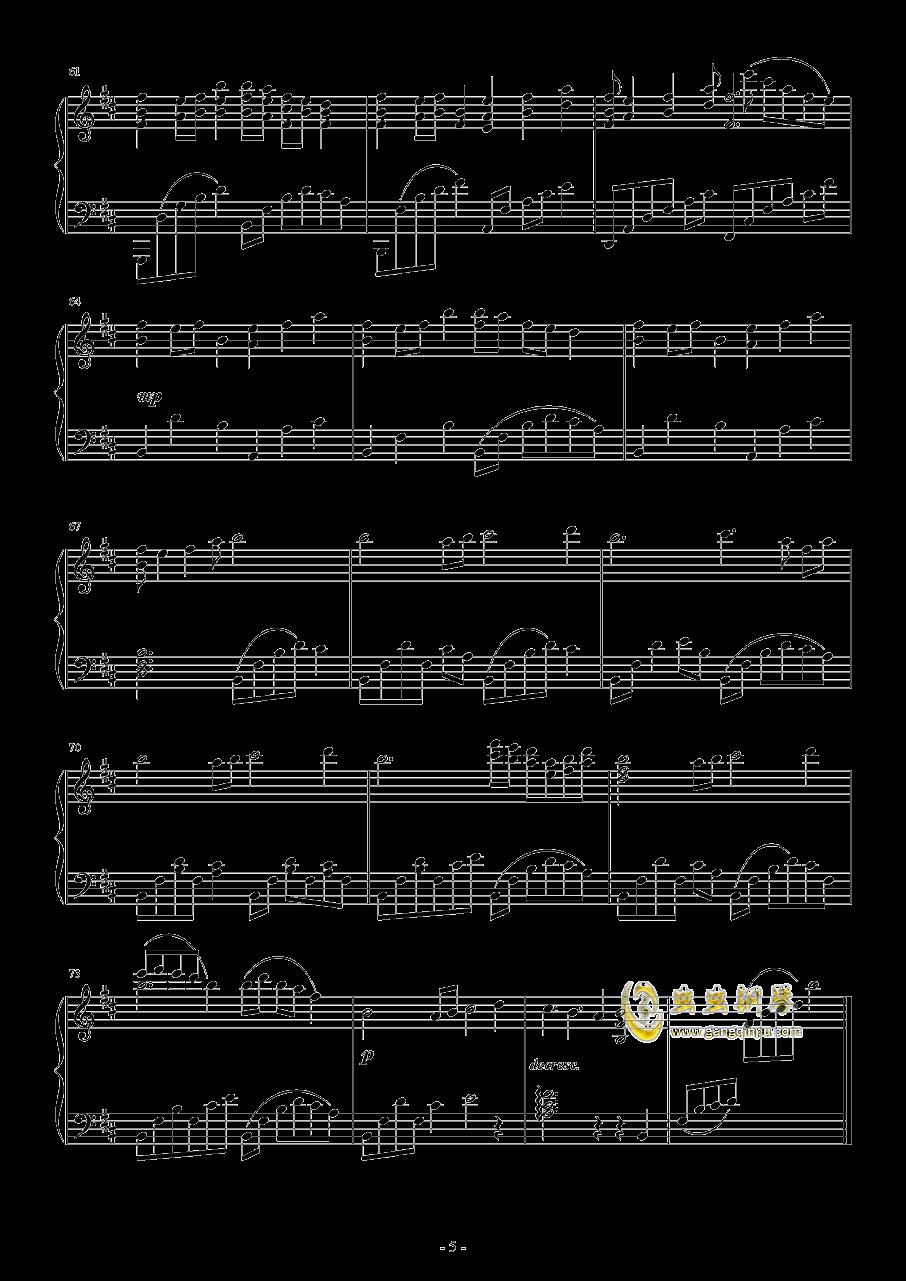Paleoville's Higan钢琴谱 第5页