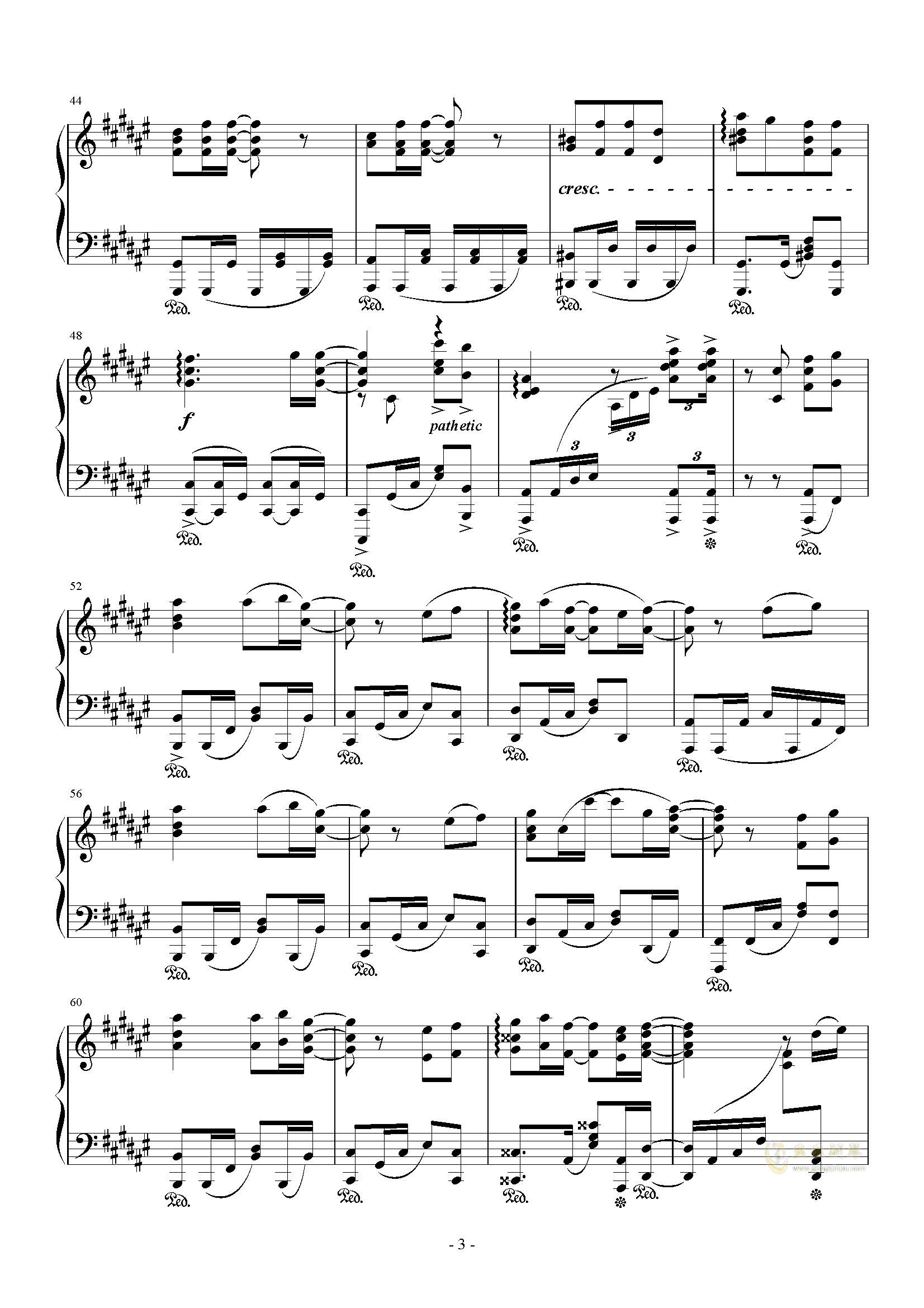第八话 夏色恋花火,第八话 夏色恋花火钢琴谱,第八话 夏色恋花火