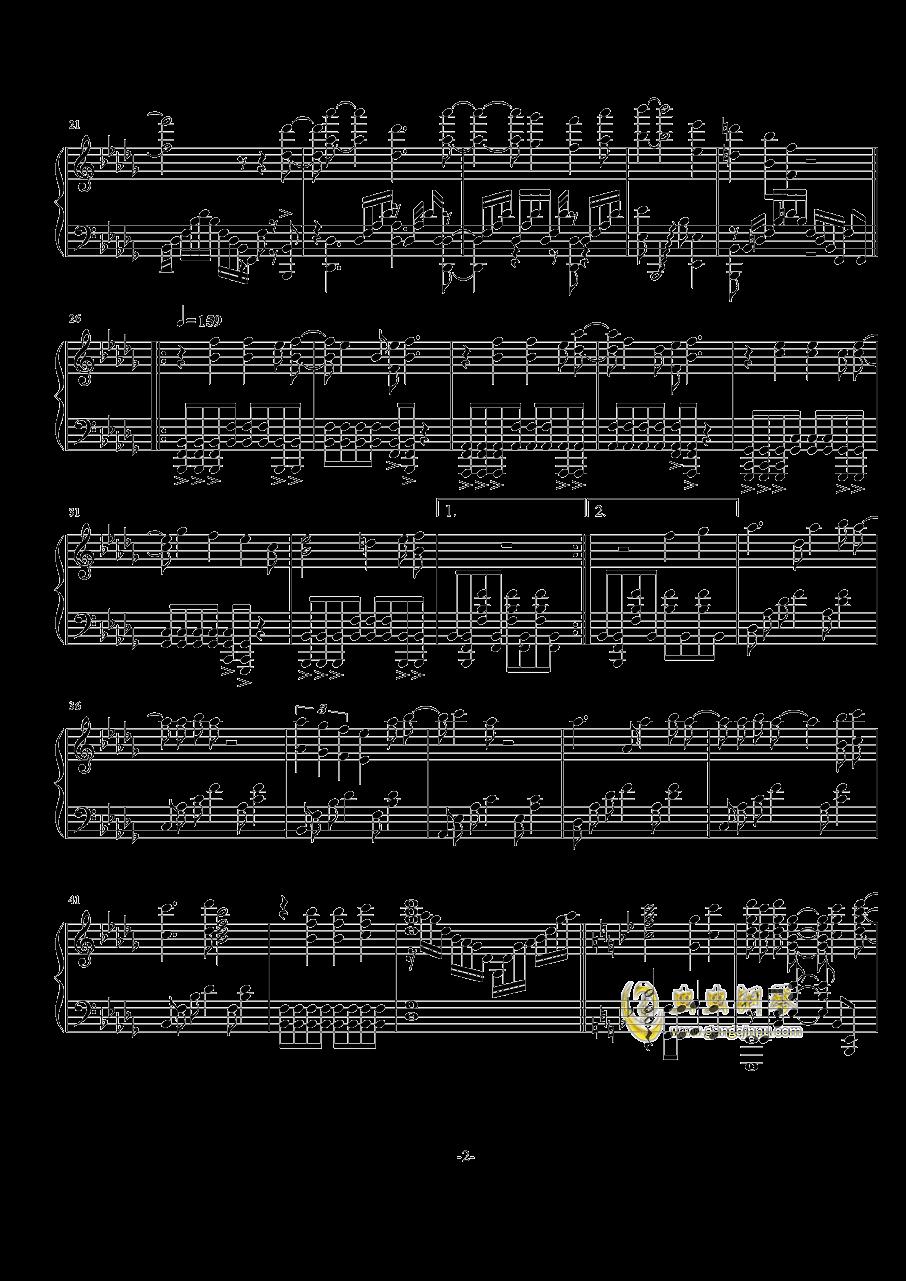Rewrite op钢琴谱 第2页