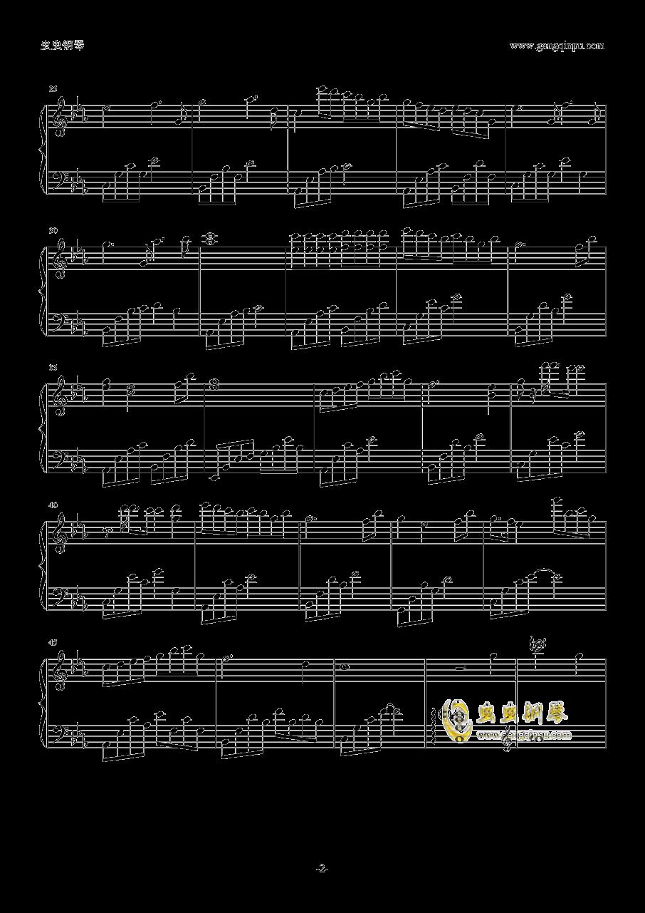 乌鸦奏鸣曲钢琴谱 第2页