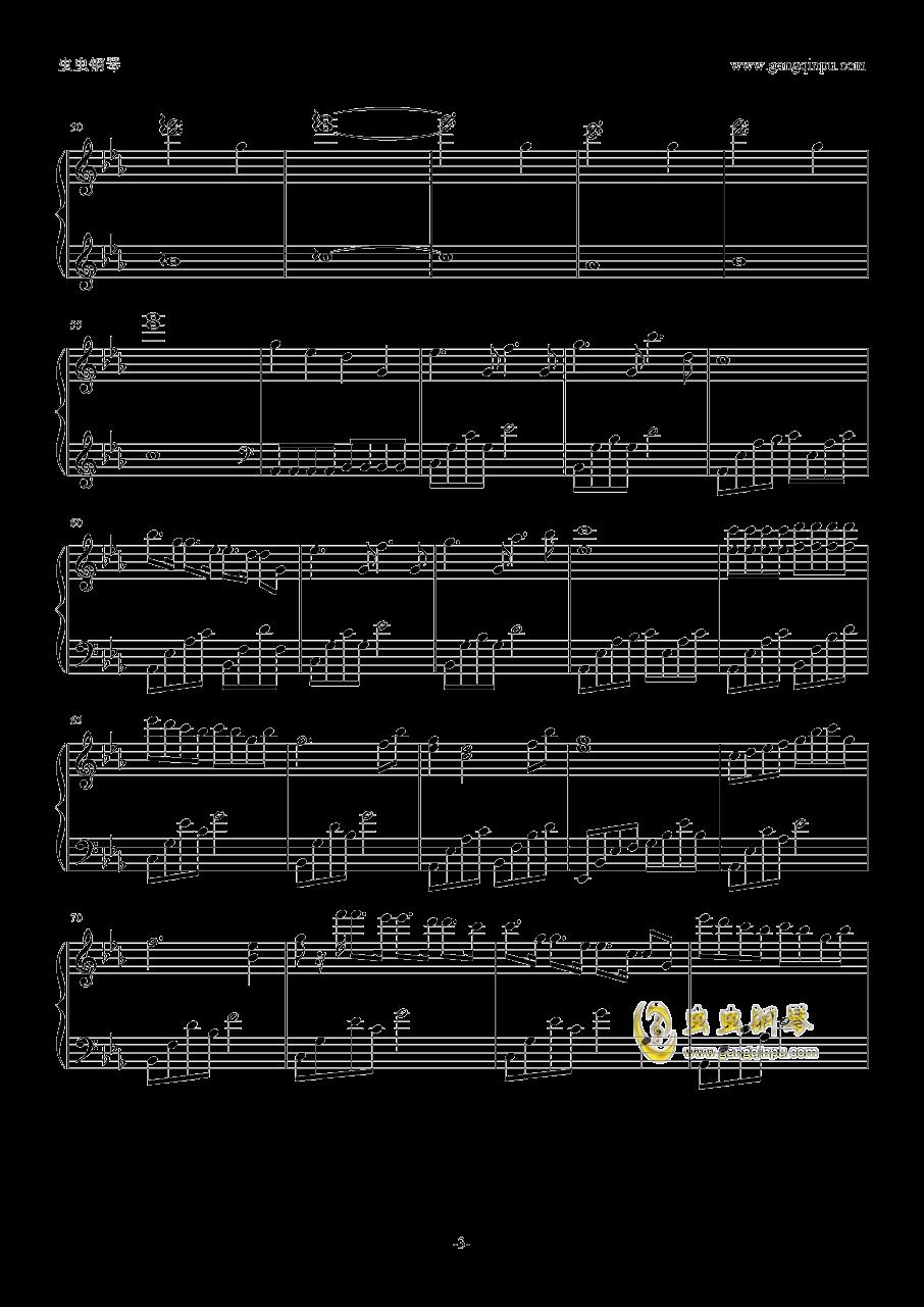 乌鸦奏鸣曲钢琴谱 第3页