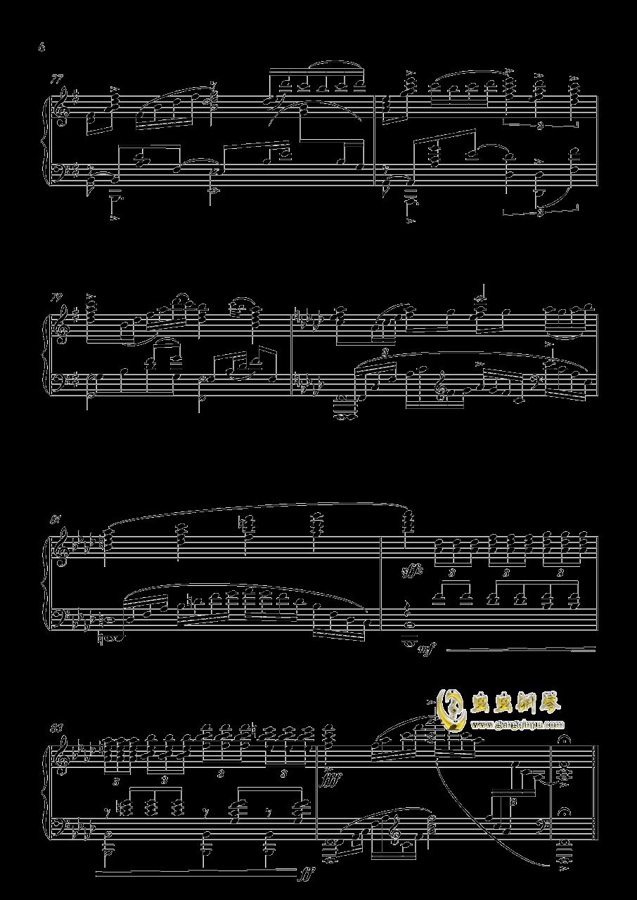 ANiMA钢琴谱 第6页