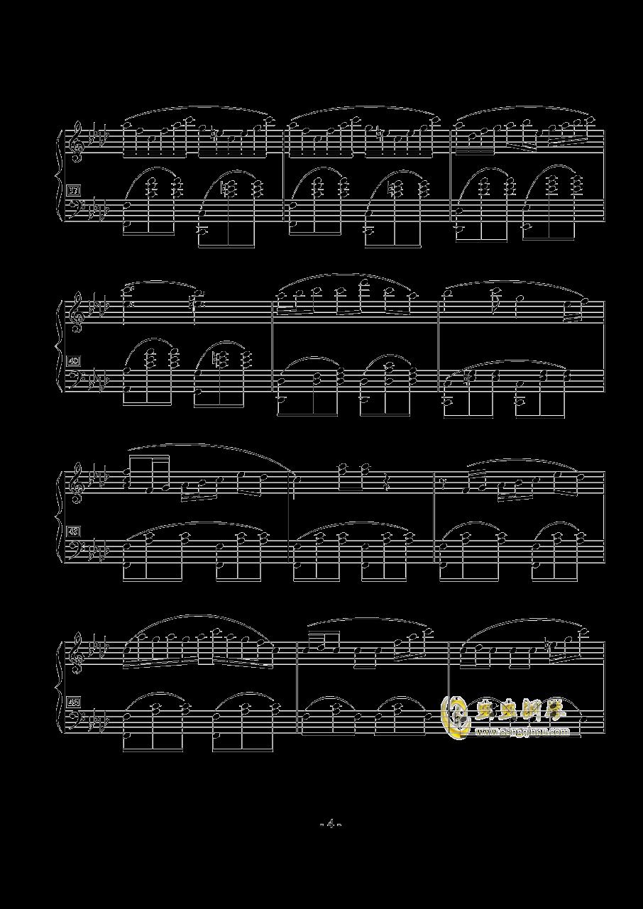 那些花钢琴曲谱