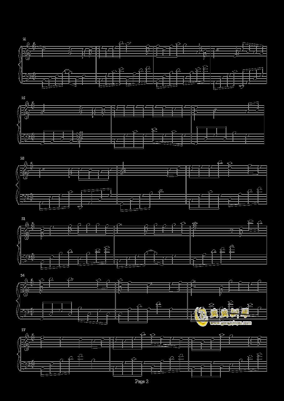 积梦成渊钢琴谱 第2页