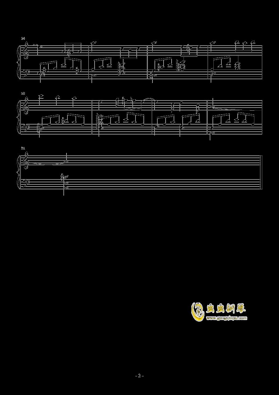 笼中的小鸟钢琴谱 第2页