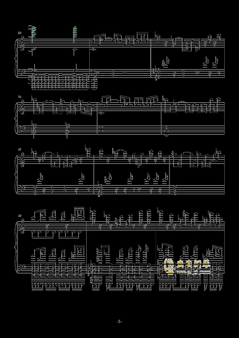 Evans钢琴谱 第3页