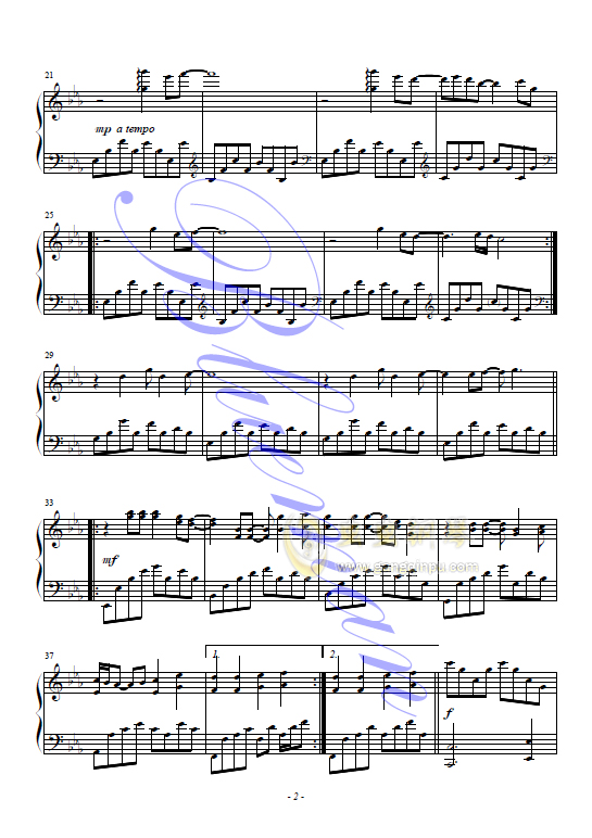 Everytime,Everytime钢琴谱,Everytime钢琴谱网,Everytime钢琴谱大