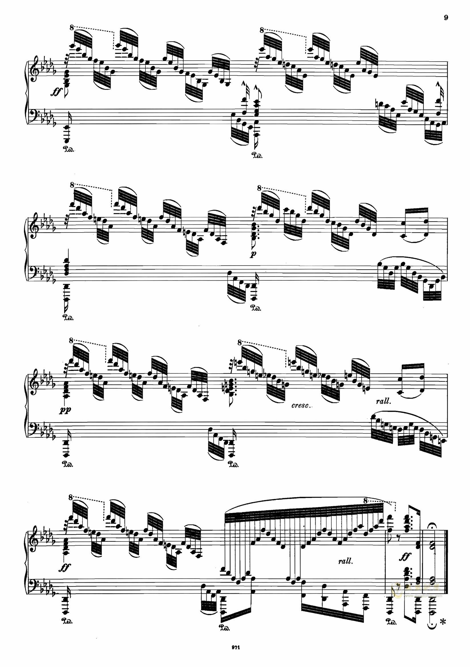 >> 名人名曲 >> 塔尔贝格 >>塔尔贝格 改编 可爱的家 op.72