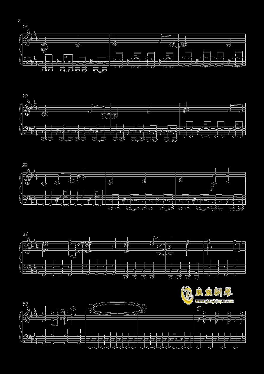 Gundam Build Fighters钢琴谱 第2页