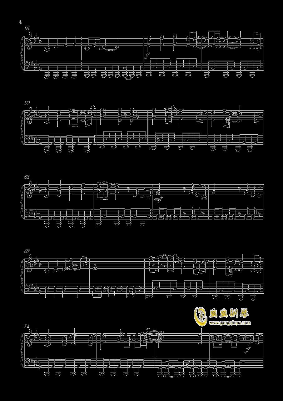 Gundam Build Fighters钢琴谱 第4页