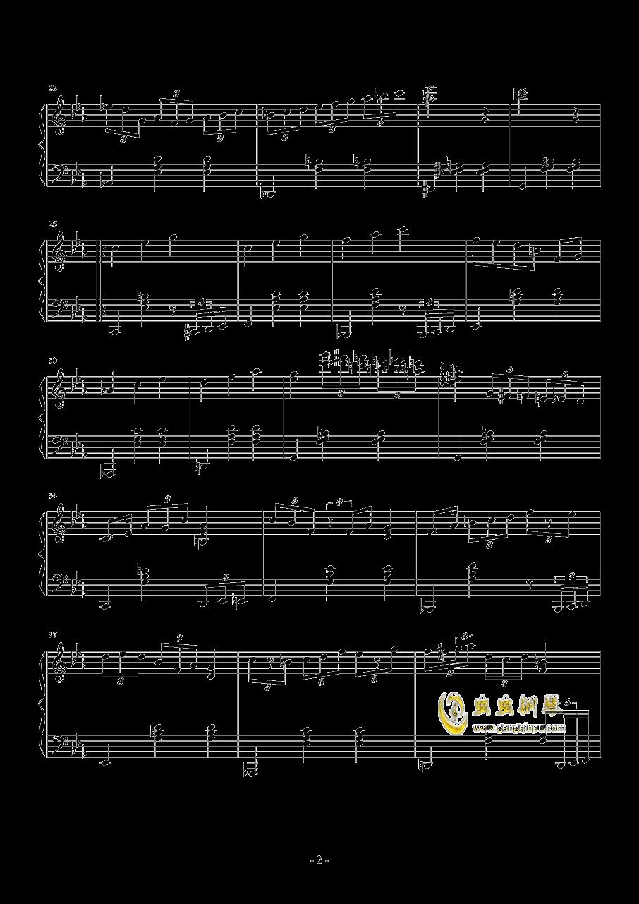 041waltz钢琴谱 第2页