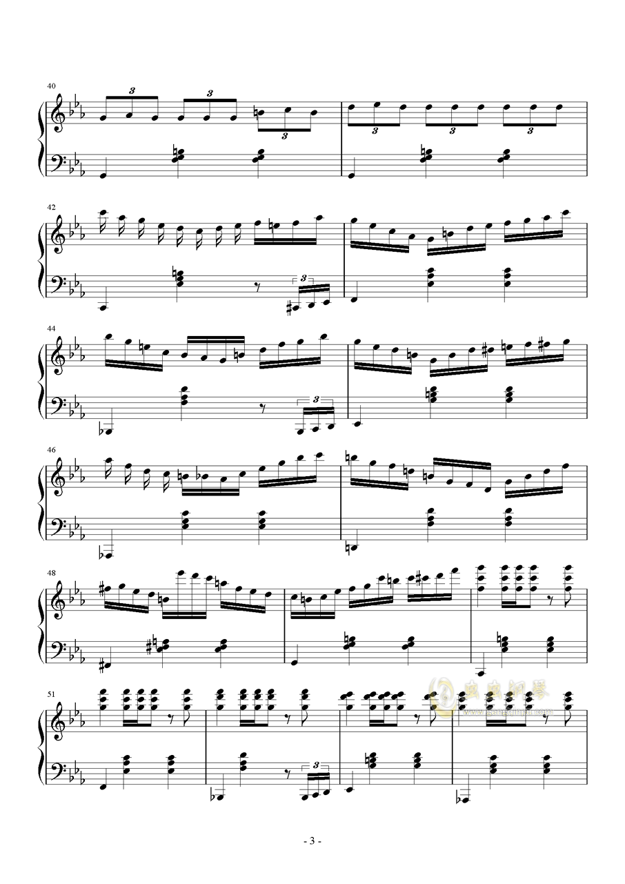 041waltz钢琴谱 第3页