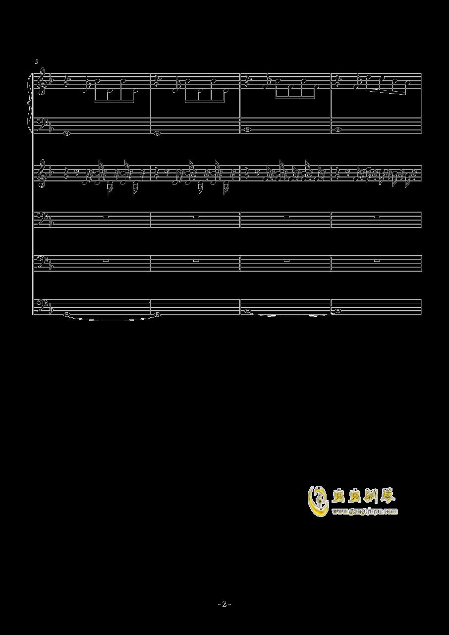 Victory钢琴谱 第2页