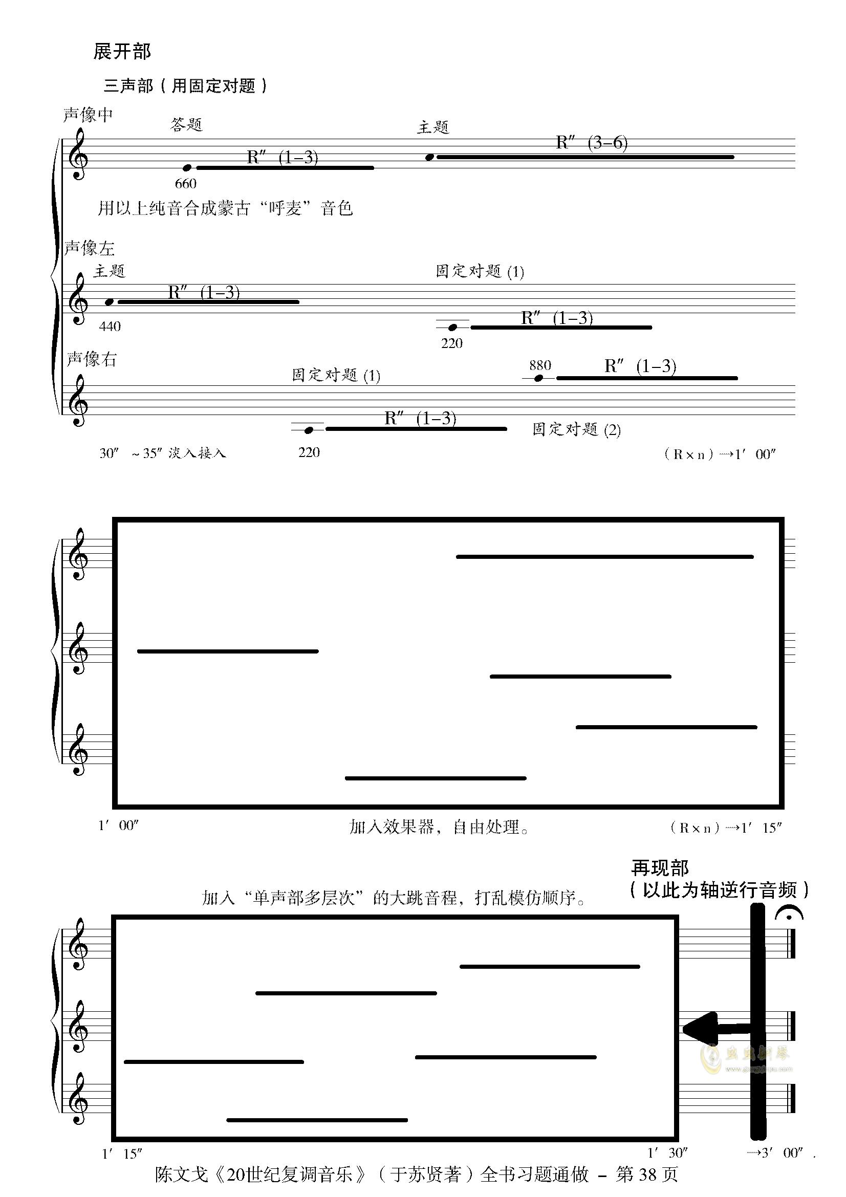 小赋格-陈文戈钢琴谱 第2页